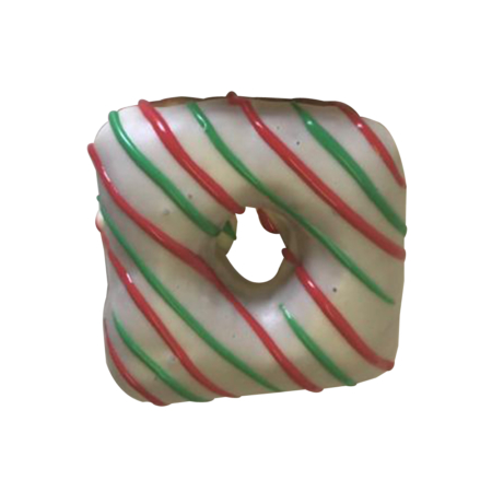 Candy Cane donut